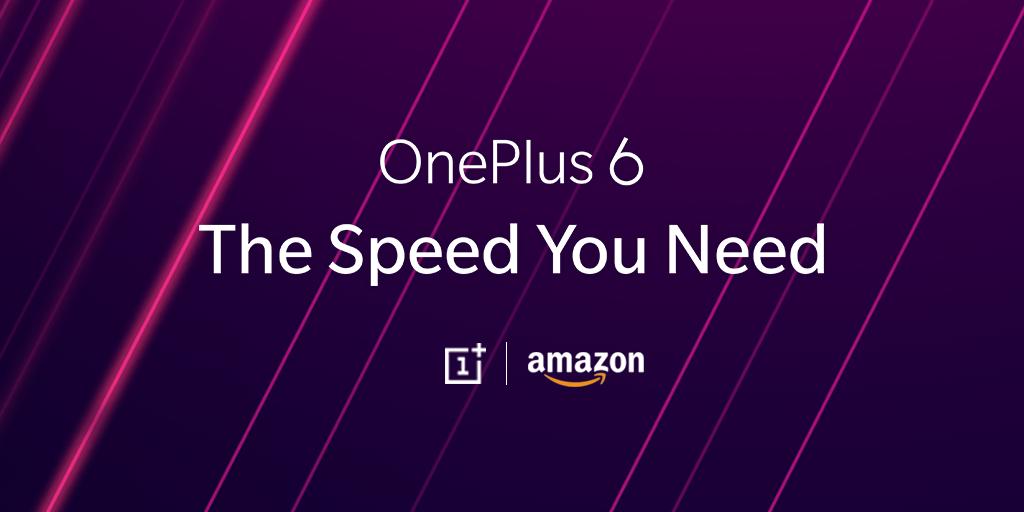 OnePlus 6 sarà disponibile per il pre-ordine stasera su Amazon